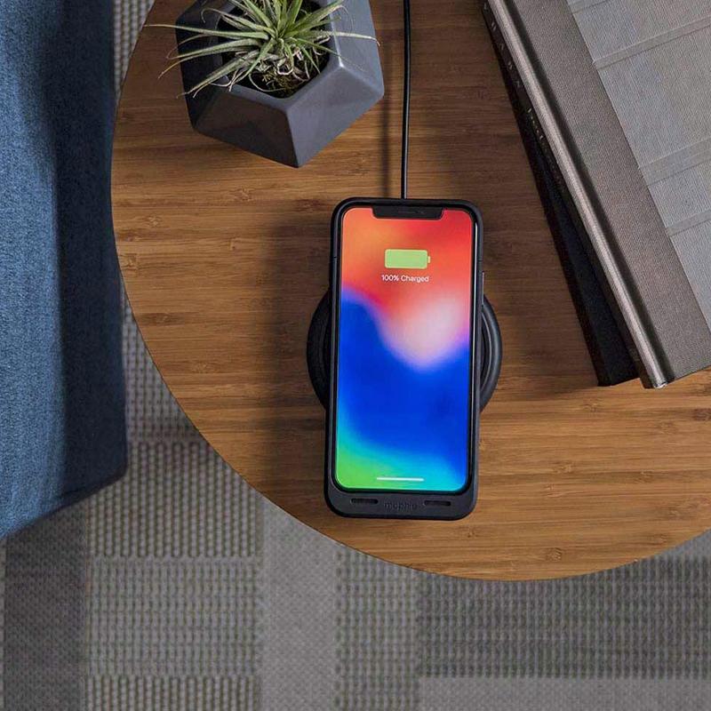 Juice Pack Air θήκη της Mophie, συμβατή με Qi τεχνολογία για iPhone X