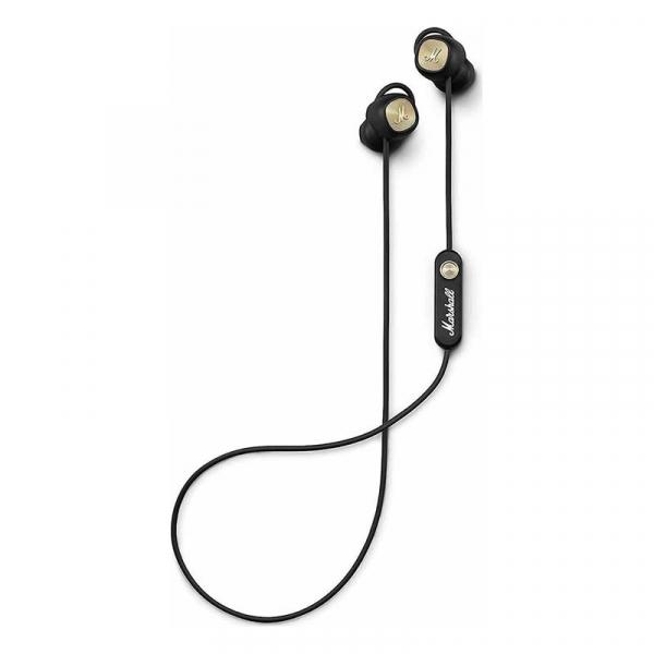 Ασύρματα bluetooth ακουστικά Marshall Minor II σε μαύρο χρώμα