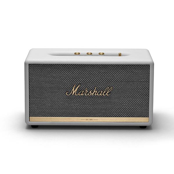 Ασύρματο ηχείο Marshall Stanmore II bluetooth σε λευκό χρώμα