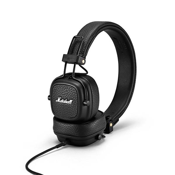 Ακουστικά Marshall Major III ενσύρματα σε μαύρο χρώμα