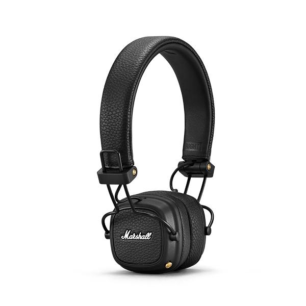 Bluetooth ασύρματα ακουστικά Marshall Major III αναδιπλούμενα σε μαύρο