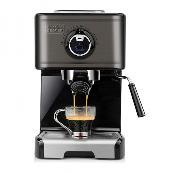 Μηχανή Espresso της Black + Decker με Inox design