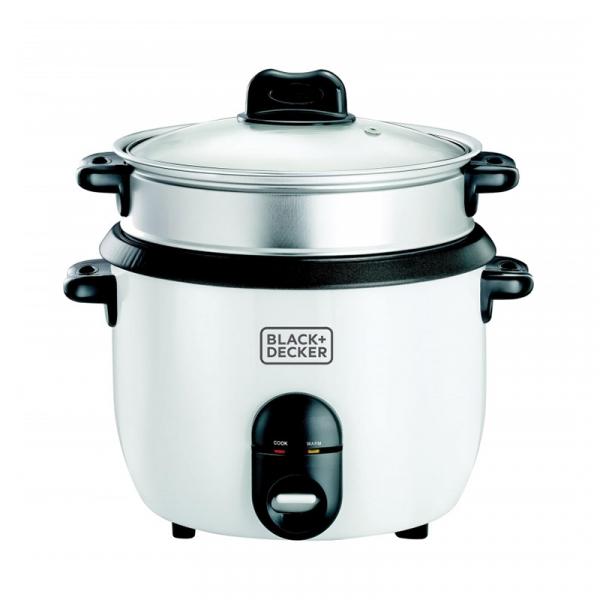 Ατμομάγειρας -βραστήρας ρυζιού RIce Cooker 700W της Black&Decker