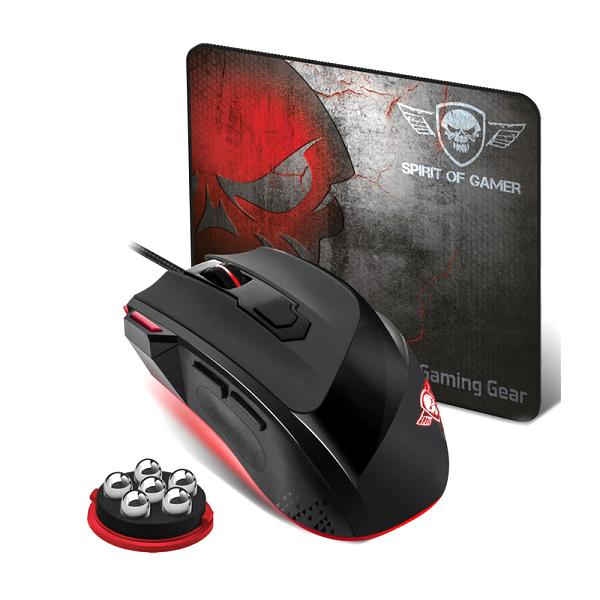 Gaming ποντίκι και mousepad PRO-M3 της Spirit Of Gamer