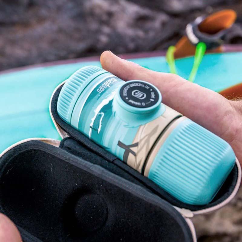 Φορητή μηχανή espresso Nanopresso GR από τη σειρά Journey της Wacaco
