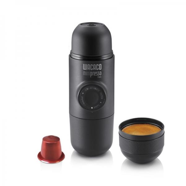 Φορητή χειροκίνητη μηχανή Minipresso NS της Wacaco