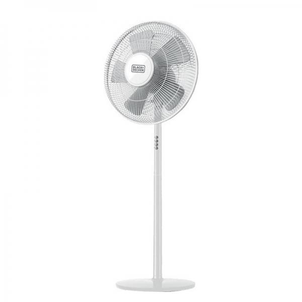 Επιδαπέδιος ανεμιστήρας Pedestal Fan 5 Blades της Black + Decker