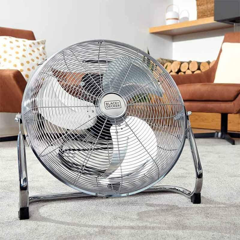 Επιδαπέδιος ανεμιστήρας Floor Fan 3 Blades της Black + Decker