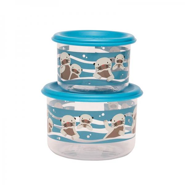 Παιδικό γυάλινο δοχείο φαγητού από τη σειρά Baby Otter της Sugarbooger