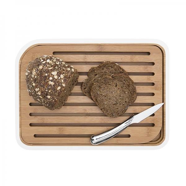 Σανίδα κοπής ψωμιού με κατασκευή μπαμπού από τη Pebbly