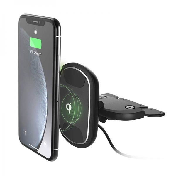 Μαγνητική βάση στήριξης κινητών Itap 2 Wireless CD Slot Car Charging Mount για το αυτοκίνητο από την iOttie