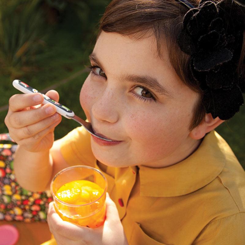 Παιδικό σετ με κουταλάκι και πιρουνάκι από τη σειρά Hedgehog της Sugarbooger