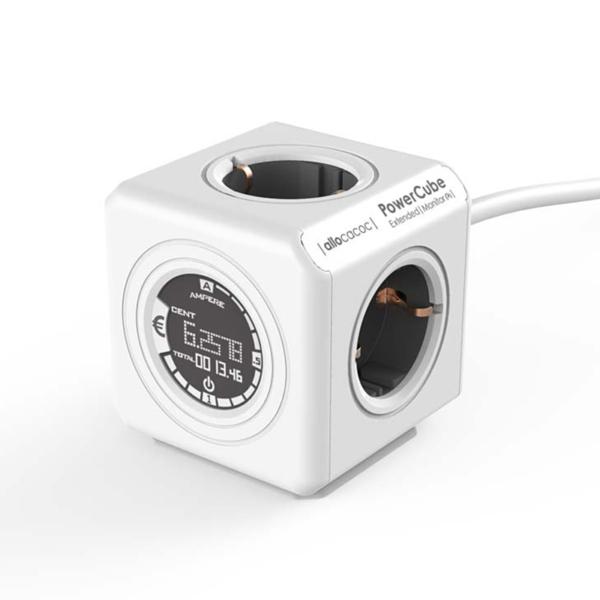 Πολύμπριζο PowerCube Extended Monitor της Allocacoc