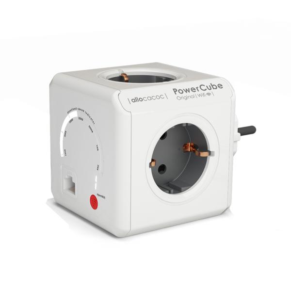 Πολύμπριζο PowerCube Original WiFi της Allocacoc