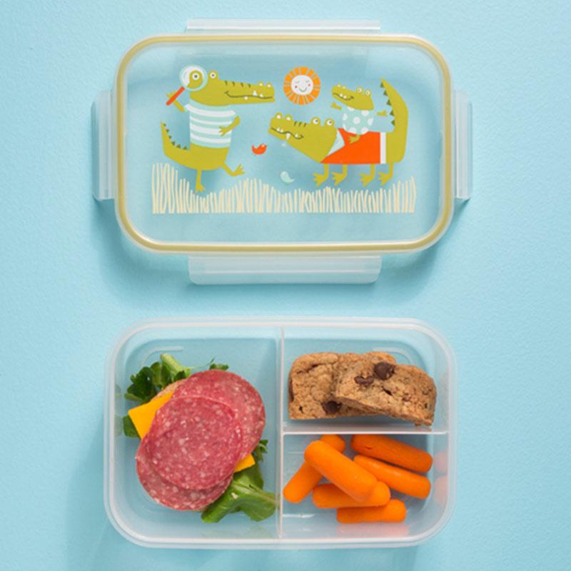 Παιδικό δοχείο φαγητού από τη σειρά Ollie Gator της Sugarbooger