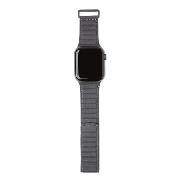 Δερμάτινο λουράκι Traction Strap της Decoded για το Apple Watch Series 4/5/6/SE 44mm