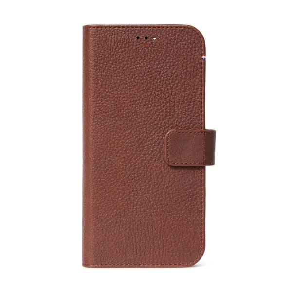 Δερμάτινη Folio θήκη της Decoded για το iPhone 12 Mini
