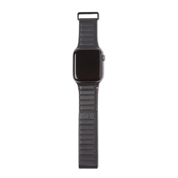 Δερμάτινο λουράκι Traction Strap της Decoded για το Apple Watch Series 4/5/6/SE 40mm